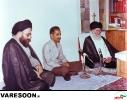 دیدار شهید رجایی با حضرت آیت الله سید محمدرضا گلپایگانی