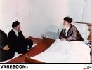 دیدار حضرت آیت الله خامنه ای با حضرت آیت الله سید محمدرضا گلپایگانی