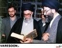 بازدید حضرت آیت الله خامنه ای از کتابخانه حضرت آیت الله مرعشی نجفی